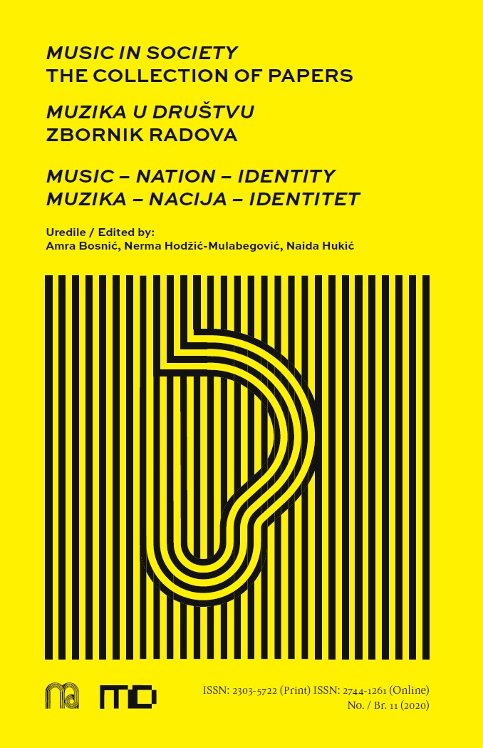 """View No. 11 (2020): """"Music in Society"""" The Collection of Papers"""